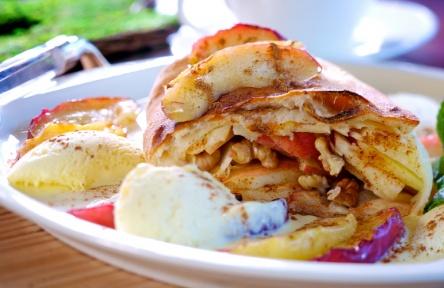 Най-популярният австрийски десерт  e ябълковият щрудел